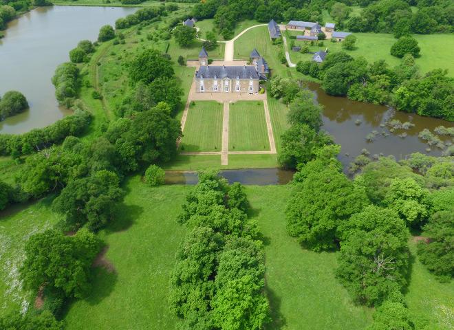 Le parc - Chateau Le Puy