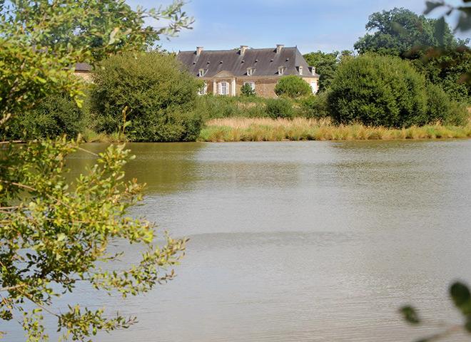 Les étangs - Chateau Le Puy