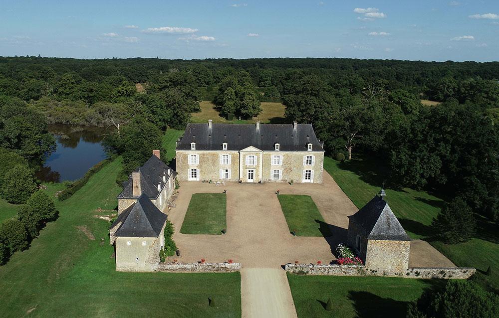 Chateau Le Puy - Architecture